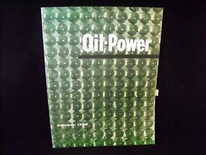 Promotional Magazine Oil Power Glass October 1956 vintage brochure