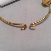 Lizzy J bullet charm bracelet, shiny gold silver vintage gold and silver image 6