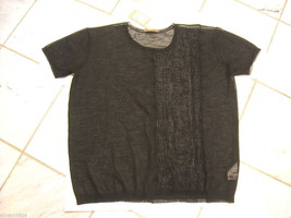 Pure DKNY Short sleeve top Size M