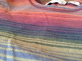 Long Sleeve Aeropostale Striped Shirt 100 Percent Cotton Size Small Multicolored image 8