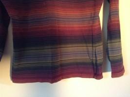 Long Sleeve Aeropostale Striped Shirt 100 Percent Cotton Size Small Multicolored image 3