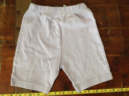 Purple Elastic Waistband Infant Shorts Basic Editions Size 18 Months
