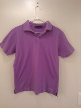 Purple Label Ralph Lauren Short Sleeve Polo Shirt Made in Italy Size Small