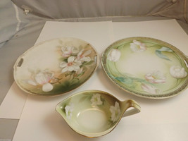 R S Germany 2 Plates and Gravy Bowl/Server image 1