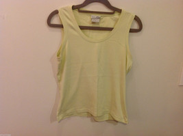 REI Womans Sleeveless Light Green Stretchable Cotton Tank Top Blouse, Size S image 1