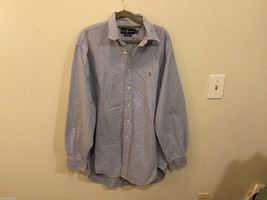 Ralph Lauren 100% Cotton Light Blue long sleeve Classic Fit Shirt, size 16-1/2