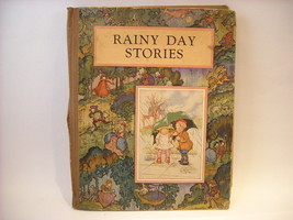 Rainy Day Stories Antique Children's Book Illustrated