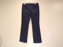 Ann Taylor LOFT Original Dark Blue Jeans Boot Cut Low Rise Size 2 image 4