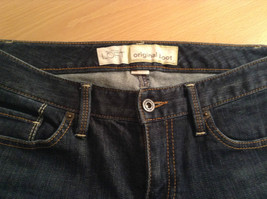 Ann Taylor LOFT Original Dark Blue Jeans Boot Cut Low Rise Size 2 image 6