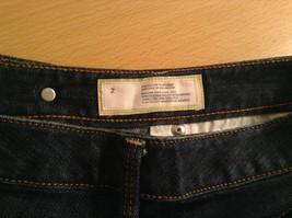 Ann Taylor LOFT Original Dark Blue Jeans Boot Cut Low Rise Size 2 image 7