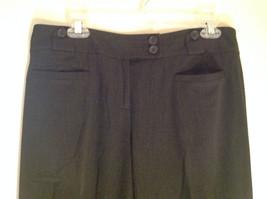 Ann Taylor Loft Dark Gray 2 Button Waist Casual Pants Size 6 image 2