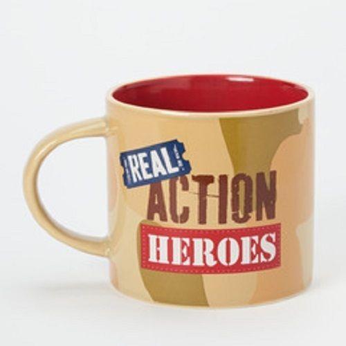 Real Action Heroes  gift mug