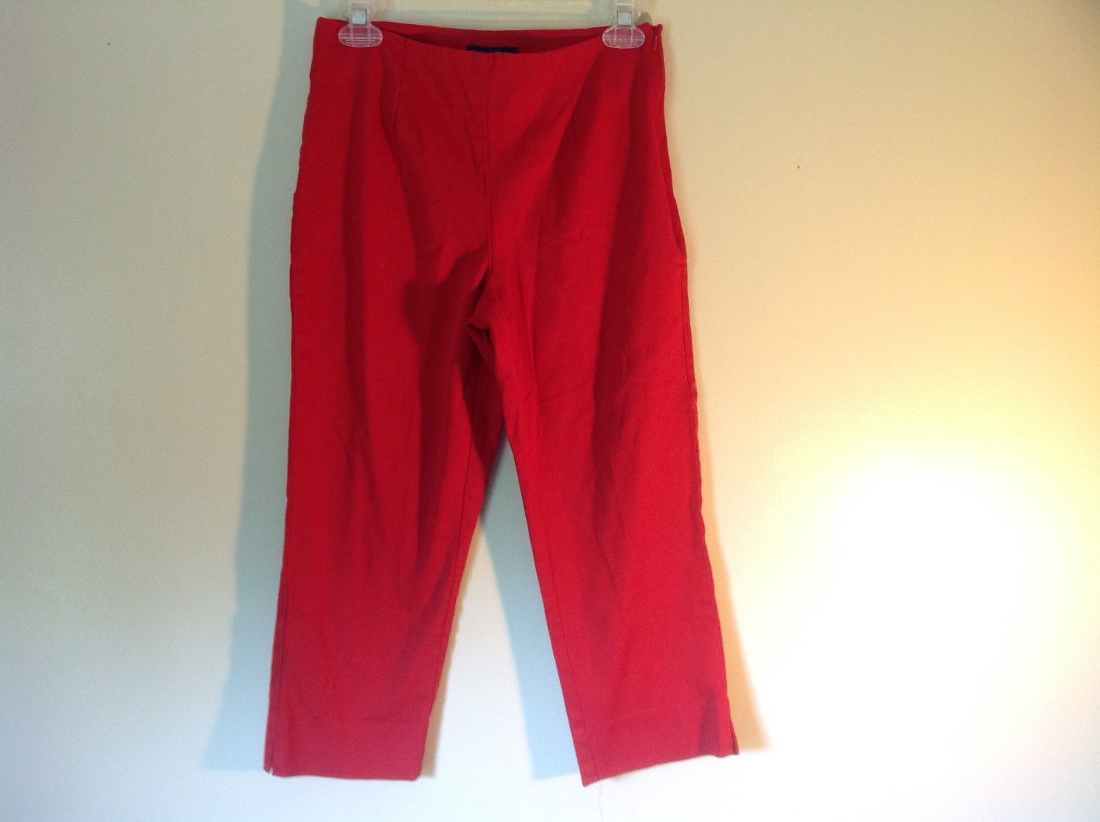 Red Boston Proper Dress Pants Size 6 Slightly Stretchy
