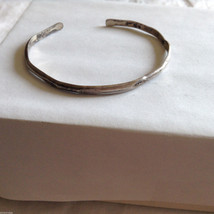 Lot of 2 Vintage Real Silver and Gold Tone bracelets image 2