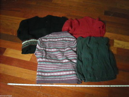 Lot of 4 Winter Women's Tops Long Sleeved Size S/L image 2