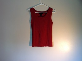 Red Sleeveless Willi Smith Size Small Tank Top Rayon and Nylon