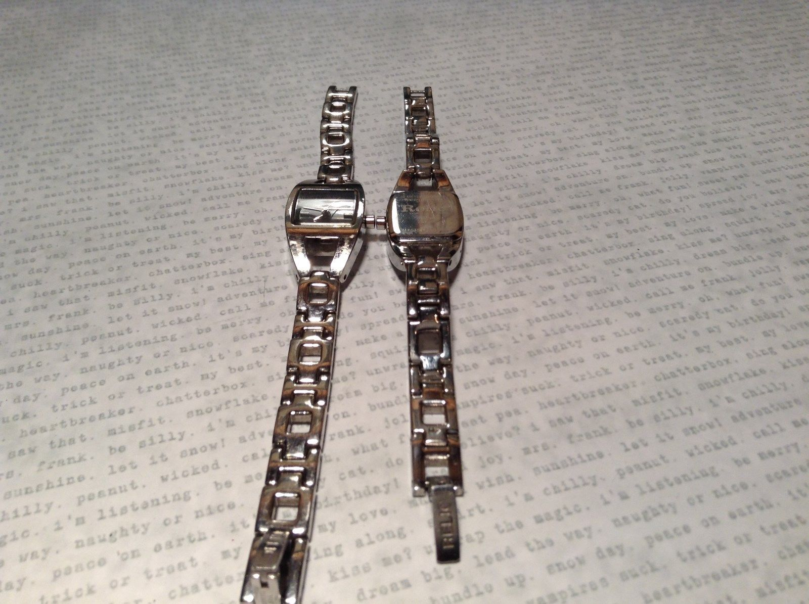Relic ZR 33503 Wristwatch Two Available One has 12 Links One has 14 Links