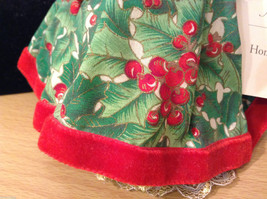 Madame Alexander Collectible Doll Home for the Holidays Christmas themed, no box image 4