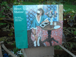 Matted Poster Reproduction The Early Years in Nice by Henri Matisse image 3