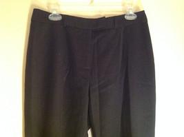 McLaughlin Black Dress Pants Zipper Clasp Button Closure Made in USA Size 12 image 2