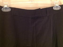 McLaughlin Black Dress Pants Zipper Clasp Button Closure Made in USA Size 12 image 4