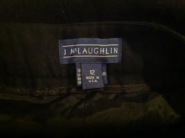 McLaughlin Black Dress Pants Zipper Clasp Button Closure Made in USA Size 12 image 7