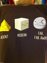 Men style brown T-shirt M Architecture 101 image 2