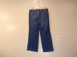 Medium Wash Blue Jeans New York and Company Size 12 Very Good Condition image 2
