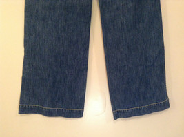 Medium Wash Blue Jeans New York and Company Size 12 Very Good Condition image 8