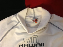 Mens Hawaii 70 Sport Soccer Football Jersey Uniform White Shirt size Medium M image 3