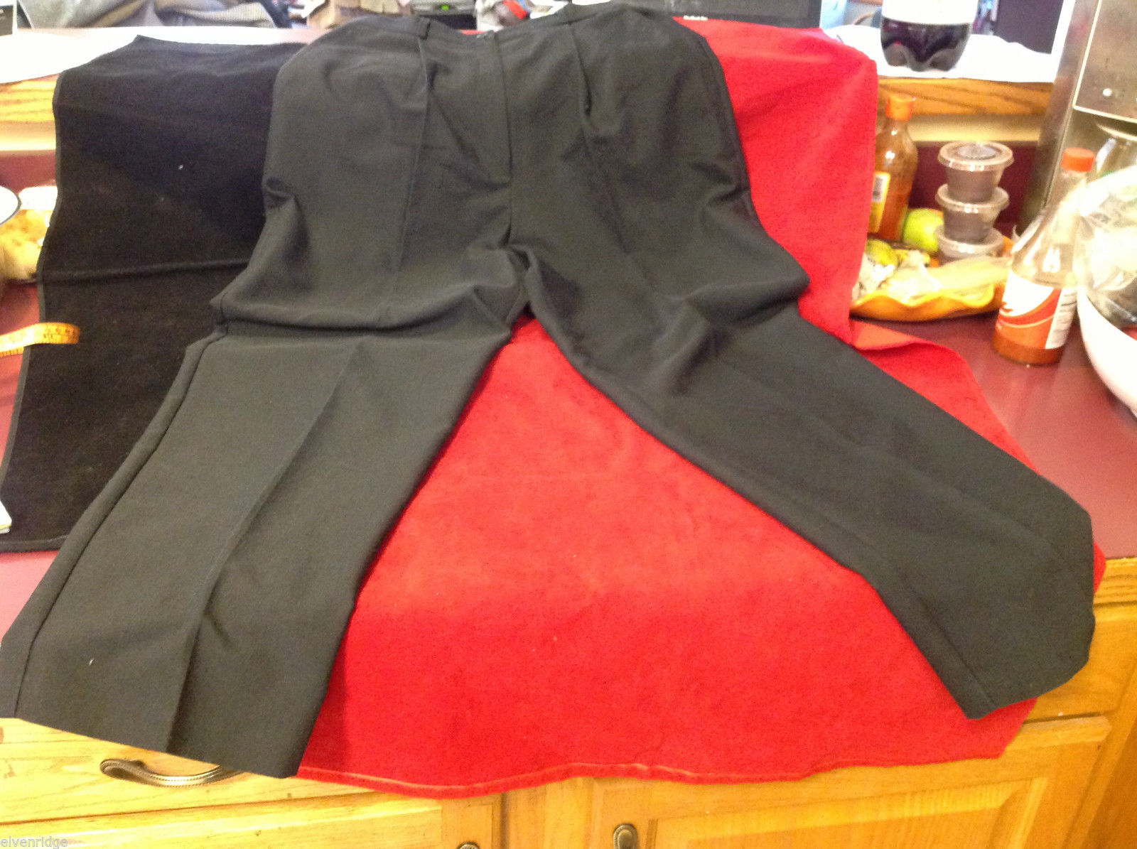Requirements Brand Womens Black Dress Pants size 10