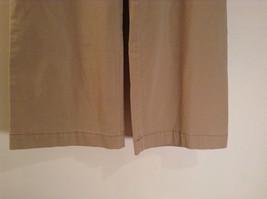 Ann Taylor Loft Tan Casual Pants Flared Bottoms Back Pockets Size 10P image 4