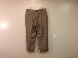 Perry Ellis Mens Classic Brownish Gray Dress Pants, Size 40/30 image 2