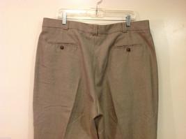 Perry Ellis Mens Classic Brownish Gray Dress Pants, Size 40/30 image 6