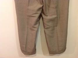 Perry Ellis Mens Classic Brownish Gray Dress Pants, Size 40/30 image 7