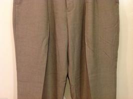 Perry Ellis Mens Classic Brownish Gray Dress Pants, Size 40/30 image 4