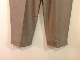 Perry Ellis Mens Classic Brownish Gray Dress Pants, Size 40/30 image 5