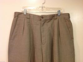 Perry Ellis Mens Classic Brownish Gray Dress Pants, Size 40/30 image 3