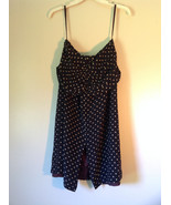 Richard Lang 100 Percent Silk Size 10 Spaghetti Strapped  Polka Dotted D... - $49.49