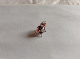 Micro Miniature small hand blown glass made USA 2 spotted sheep image 2