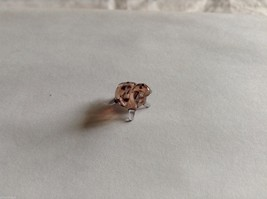 Micro Miniature small hand blown glass made USA 2 spotted sheep image 3