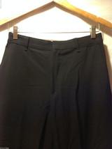 Perry Ellis Mens Classic Black Dress Pants, Size 20R image 4