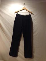 Perry Ellis Mens Classic Black Dress Pants, Size 20R image 2