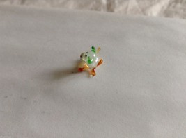 Micro Miniature small hand blown glass made USA NIB Bull w rough tail image 2