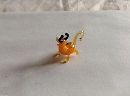 Micro Miniature small hand blown glass made USA NIB Bull image 2