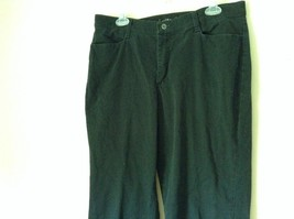 Riders Black Jeans Size 14P Button and Zipper Closure Front and Back Pockets