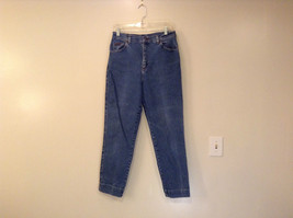 Riders High Waist Blue Jeans Size 12 Medium image 1
