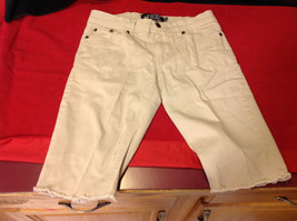 Rude Khaki Ladies Shorts Size 28