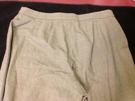 Ann Taylor stretch dress pants  size 12P dark brown image 2