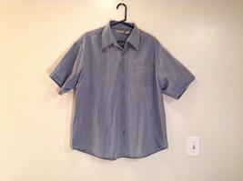 Rugged Earth Size XL 100  Percent Cotton Short Sleeve Blue Button Casual Shirt